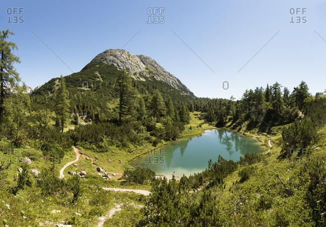 Austria- Styria- Tauplitz- Totes Gebirge- Lake Maerchensee
