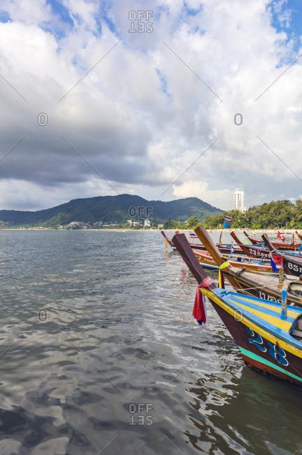 Thailand - December 16, 2017: Phuket Province- Patong- Bay