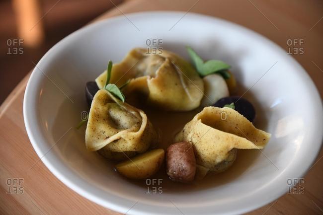 Wonton dish