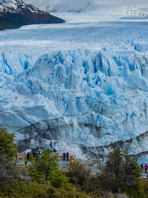 October 16, 2017: Argentina- El Calafate- Patagonia- Glacier Perito Moreno