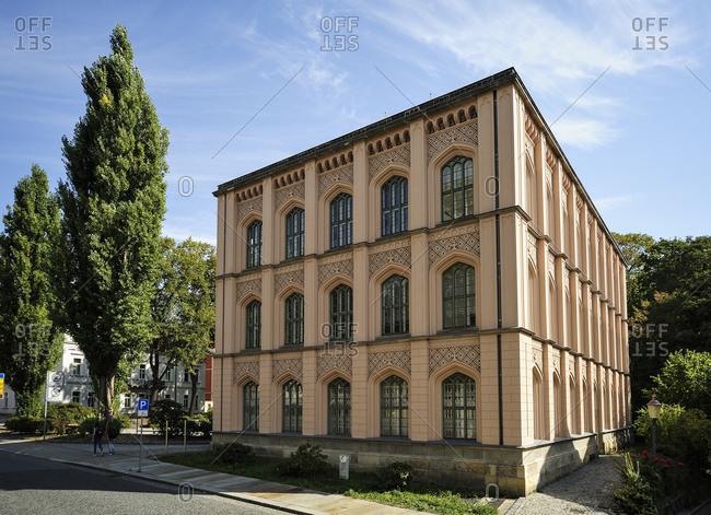 Germany- Saxony- Zittau- former Baugewerkschule- adult education center