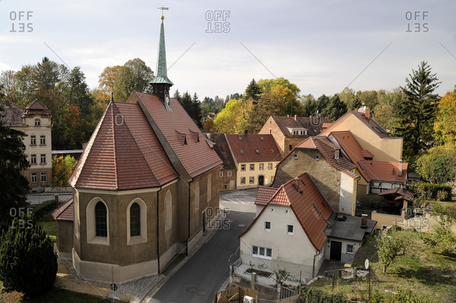 Germany- Saxony- Loebau- Church of the Holy Spirit