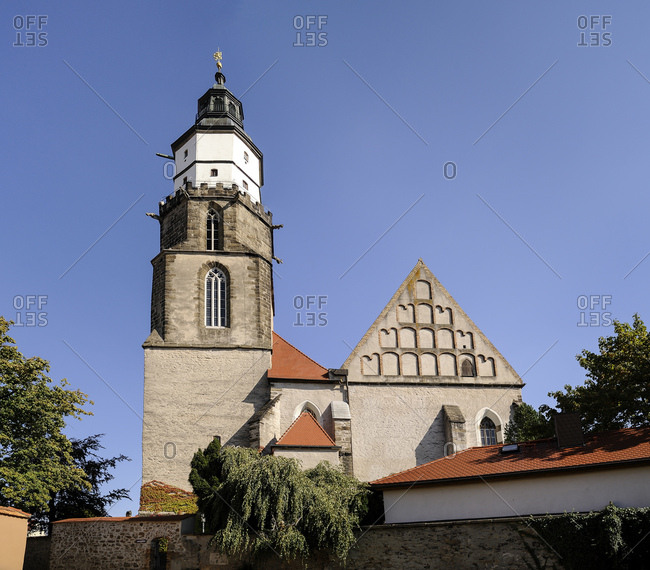 Germany- Saxony- Kamenz- Church St. Marien- Evangelical Church