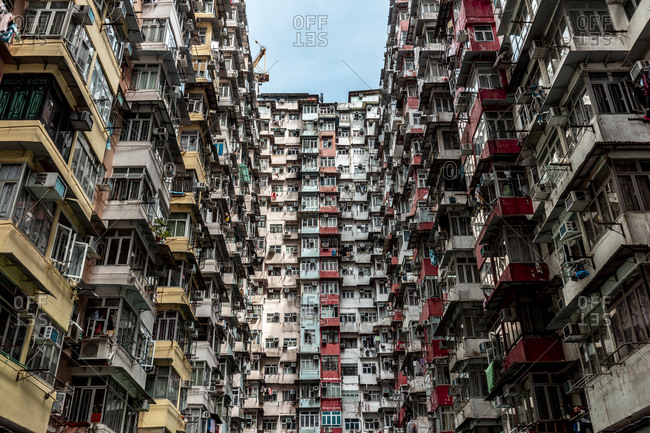Hong Kong- Quarry Bay- apartment blocks