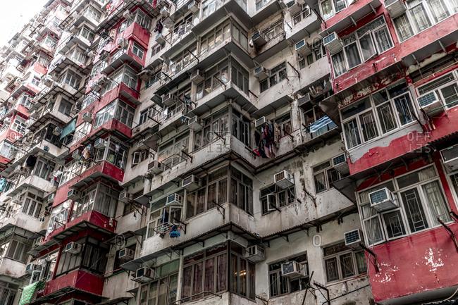 Hong Kong- Quarry Bay- apartment block