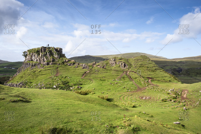 United Kingdom- Scotland- Inner Hebrides- Isle of Skye- Uig- Fairy Glen