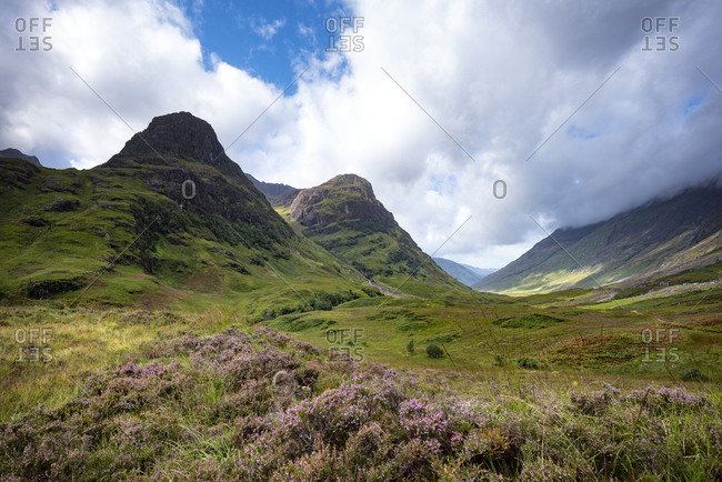Great Britain- Scotland- Scottish Highlands- Glen Coe