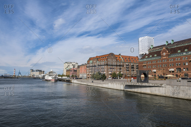 August 24, 2018: Sweden- Malmoe- Central psot office