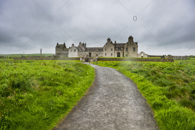 United Kingdom- Scotland- Orkney Islands- Mainland- Historic skaill house