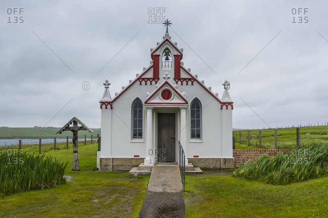 United Kingdom- Scotland- Orkney Islands- Mainland- War prisoner build Italian Chapel