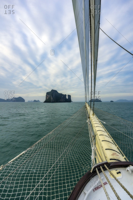 Thailand- Andaman Sea- Sailing ship