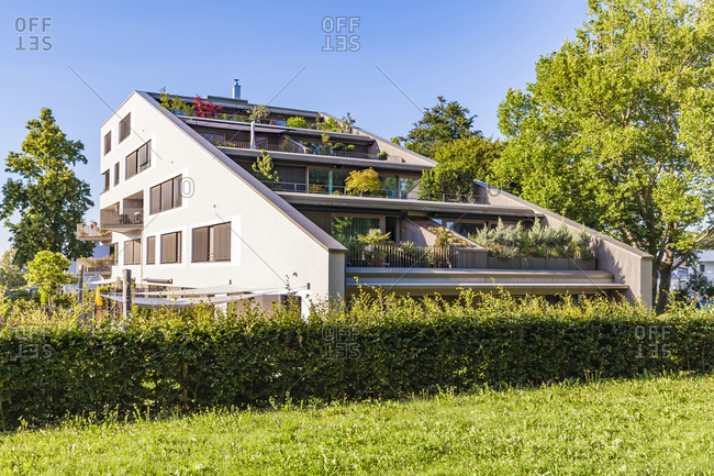 Germany- Ludwigsburg- terraced multi-family house