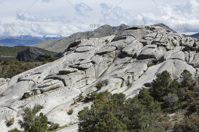 City of Rocks National Reserve in Idaho