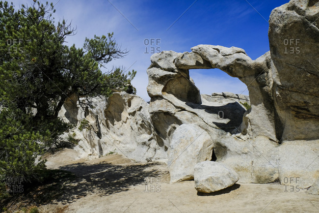 Window Arch, City of Rocks National Reserve, Idaho.