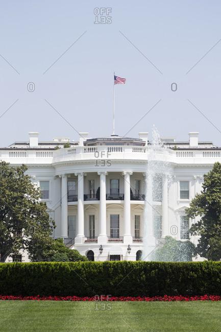 The White House in Washington D.C., USA