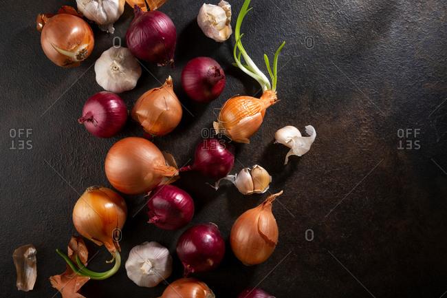 Variation onions