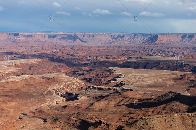 Beautiful view of Canyonlands National Park in Utah