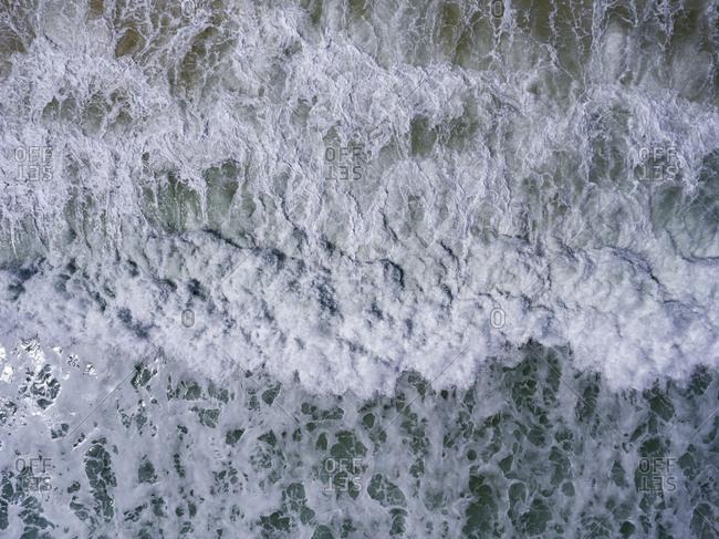 Fierce Atlantic Ocean waters