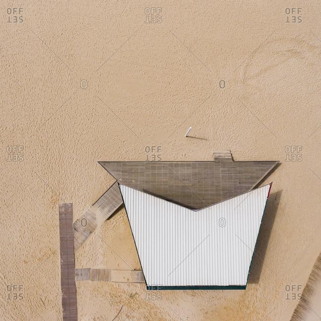 Building on the beach
