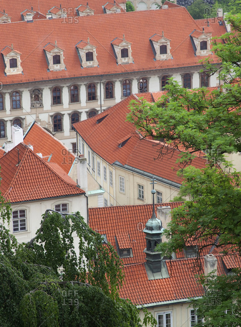 Overview of housing apartments in Prague, Czech Republic