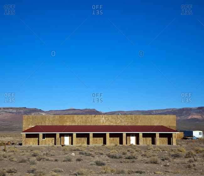 Storefront in Desert,Nevada, USA