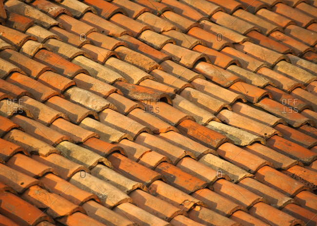 Clay Roof Tiles,Italy