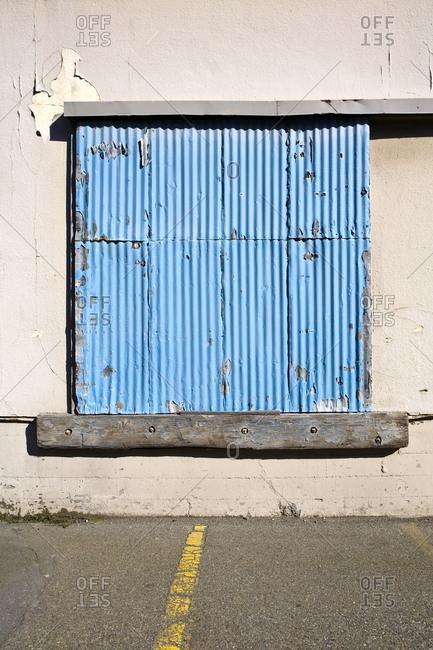 Warehouse Door,Seattle, Washington, USA