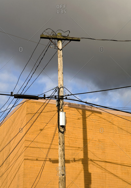 Utility Pole,Seattle, Washington, USA