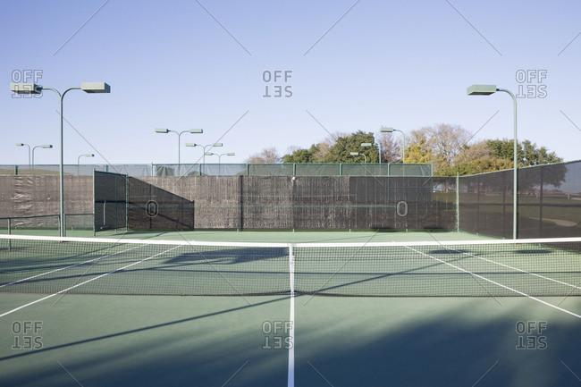 Tennis Court,McKinney, Texas, USA