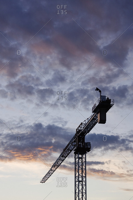 Industrial Crane,Dallas, Texas, USA