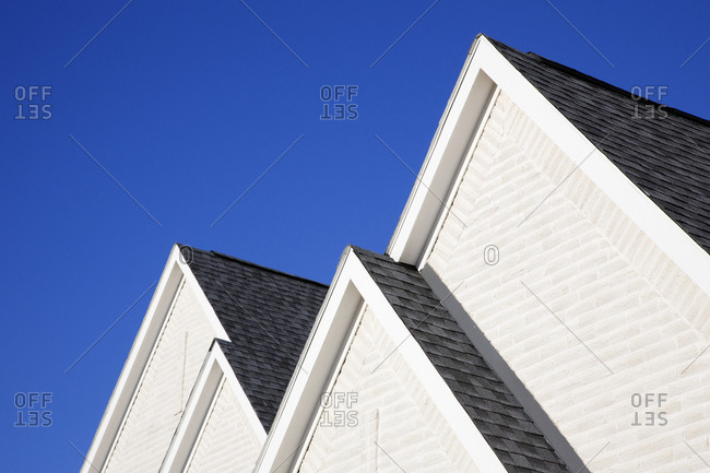 Four Gabled Rooflines,McKinney, Texas, USA
