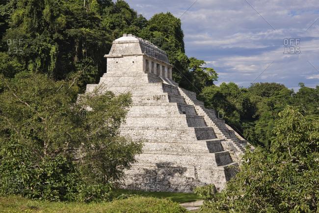 Mayan ruins, Palenque, Chiapas, Mexico,Palenque, Chiapas, Mexico