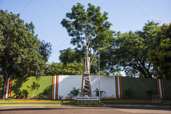 December 24, 2013: Africa- Uganda- Kampala- Independent monument