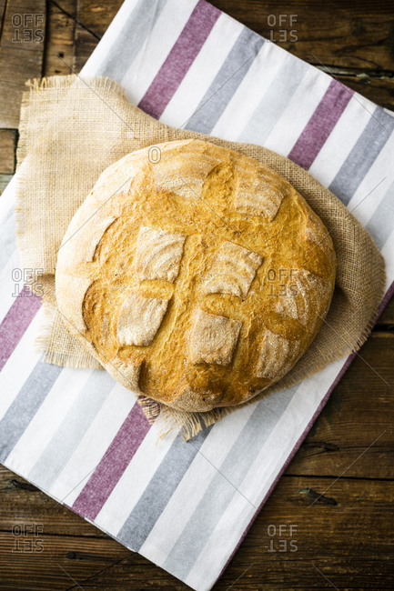 Pagnotta made of wheat flour