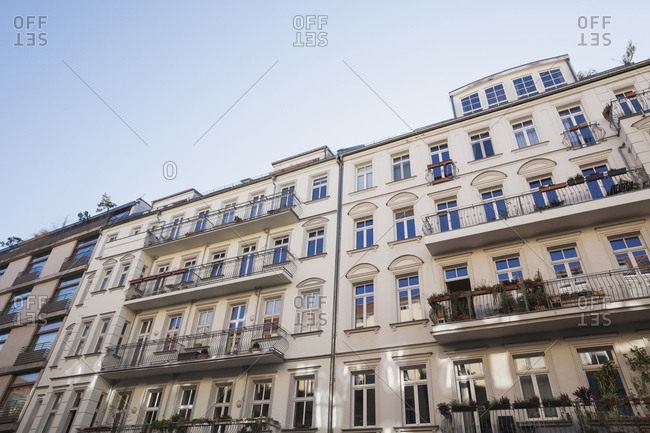 Germany- Berlin-Mitte- historical refurbished multi-family houses