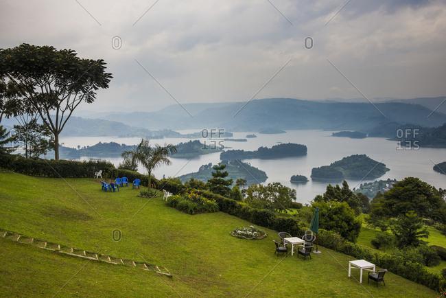 Africa- Uganda- Lake Bunyonyi