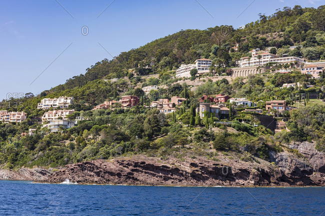 France- Provence-Alpes-Cote d'Azur- Theoule-sur-Mer- holiday homes