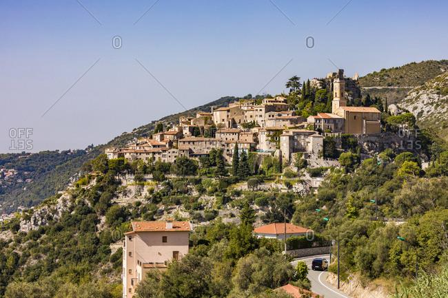 France- Provence-Alpes-Cote d'Azur- Eze- mountain village