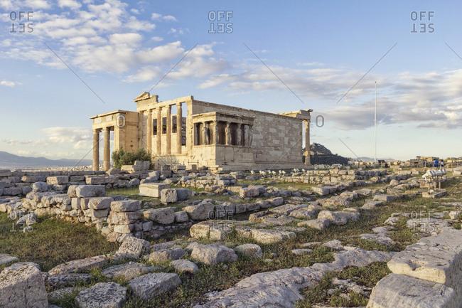 Greece- Athens- Acropolis- Erechtheion