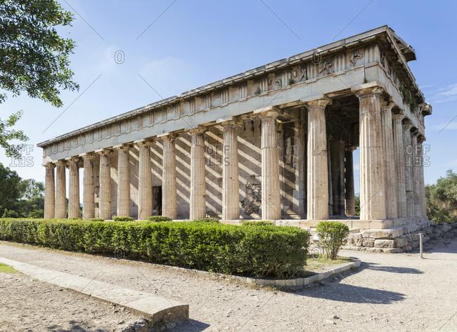 Greece- Athens- Ancient Agora- Hephaisteion