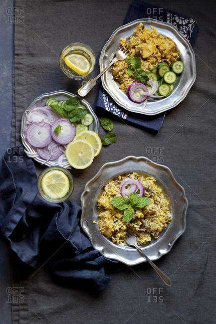 Mutton Biryani from the Offset Collection