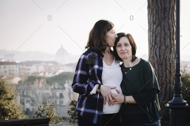 Pregnancy Photos Of Lesbian Couple