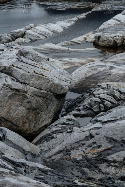 Rocky Norwegian coast
