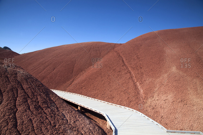 September 24, 2011: USA, Washington state, Painted hills park.