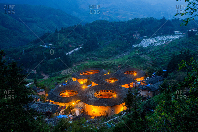 NaJing tulou in fujian province