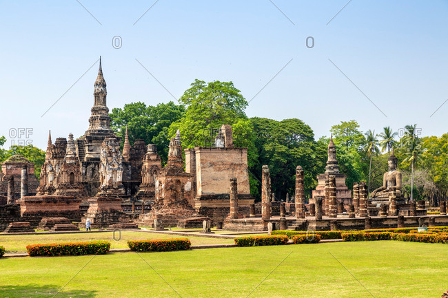 Thailand to Thai dynasty ruins