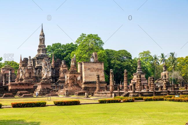 Thailand to Thai dynasty ruins