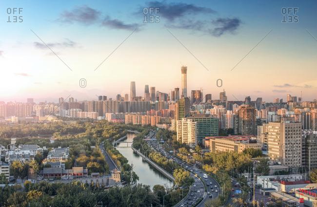 October 29, 2017: Beijing urban construction