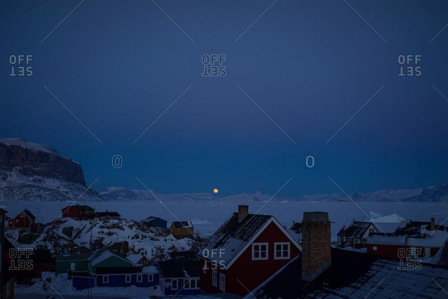moon house stock photos - OFFSET