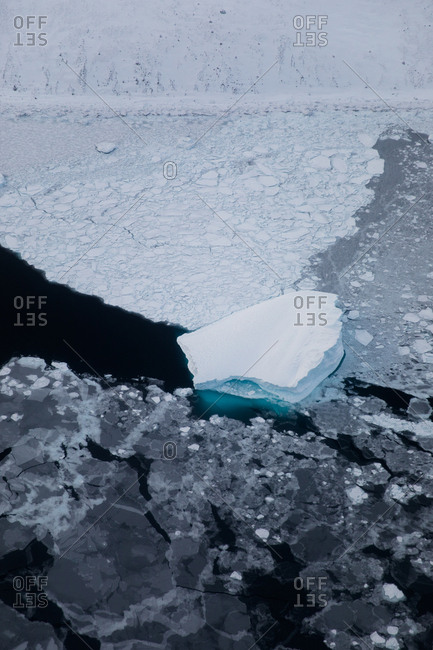 Ice in rural Greenland